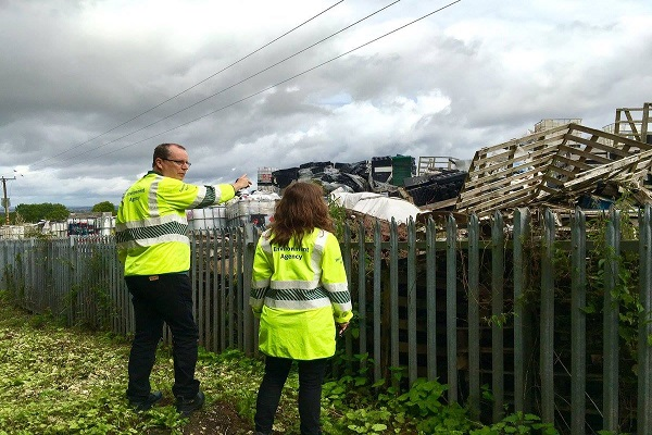 EA officers investigate another site