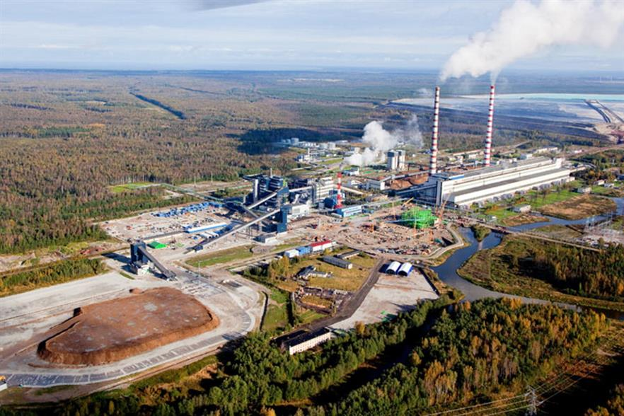 Eesti Energia's Auvere facility is fired on both biomass and oil shale. Photograph: Eesti Energia