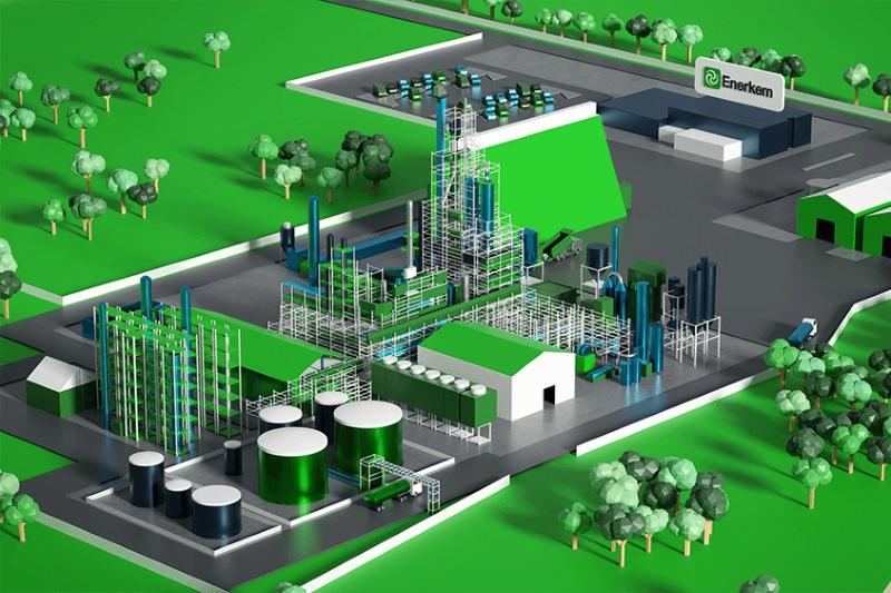 Enerkem's planned Varennes facility. Image: Enerkem