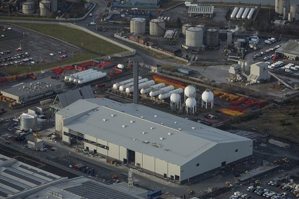 The EfW plant, image copyright RiverRidge