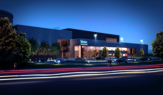 An artist's impression of projected EfW centre in Glasgow (Copyright Viridor)