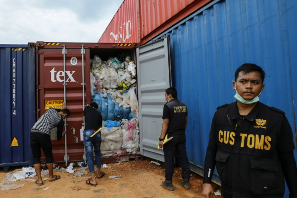 The developing world is increasingly opposed to receiving exports of waste from rich countries. Photograph: Getty Images / ANDARU