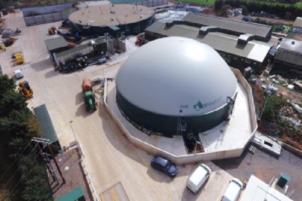 The biogas plant, image copyright ixoraenergy.co.uk