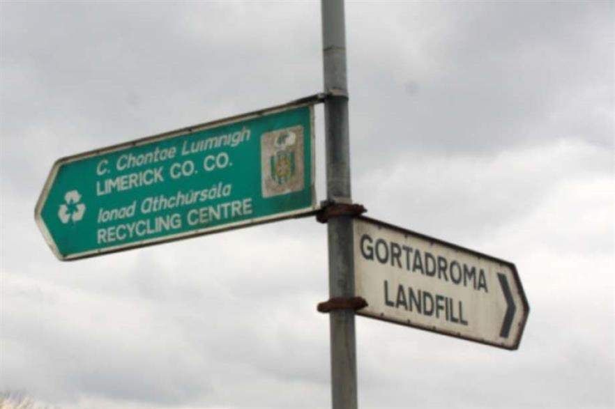 The project would be built Limerick's now-closed Gortadroma landfill site