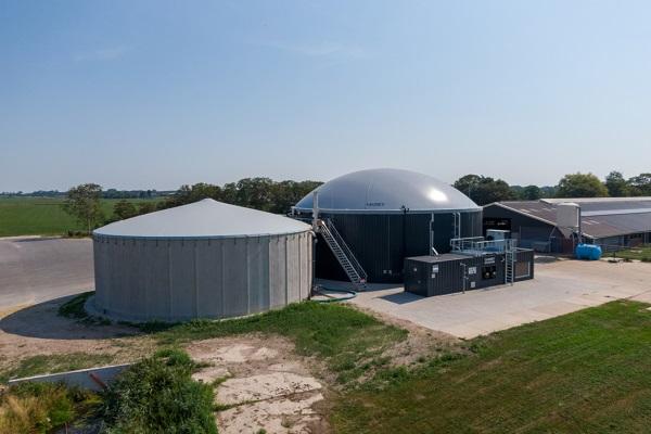 Another Host built biogas plant