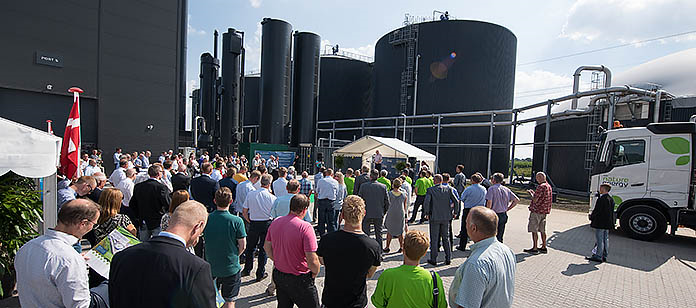 The opening of another biogas plant by Nature Energy