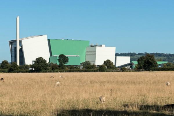 The Javelin Park plant. Photograph: Urbaser Balfour Beatty
