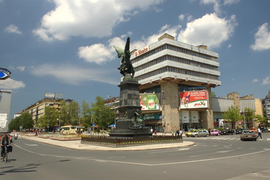 The city of Kruševac