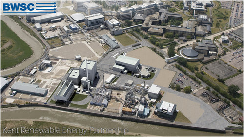 The two are working together on the Kent Power Plant