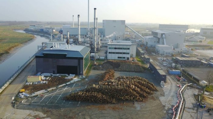 The Kent-based biomass-fired plant