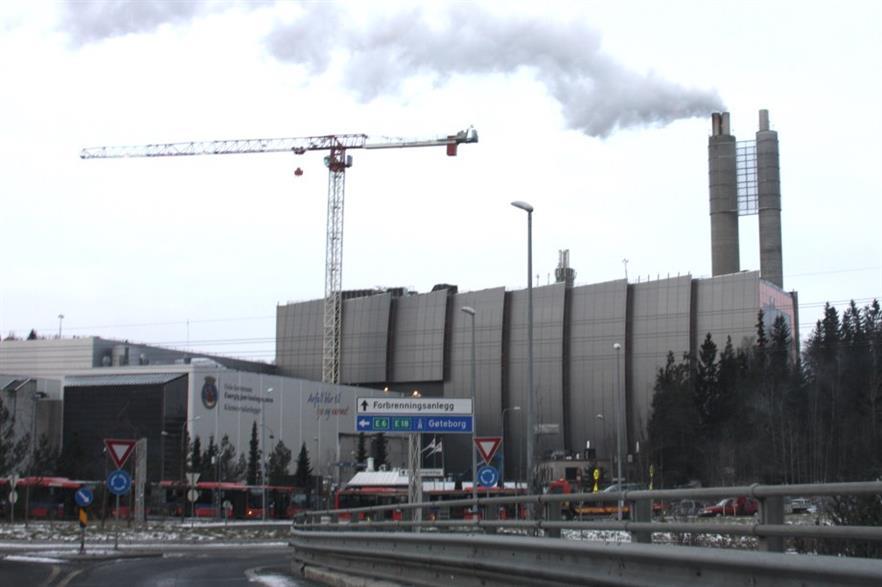 The Klemetsrud EfW plant. Credit: CC BY-SA 3.0 Erlend Bjørtvedt