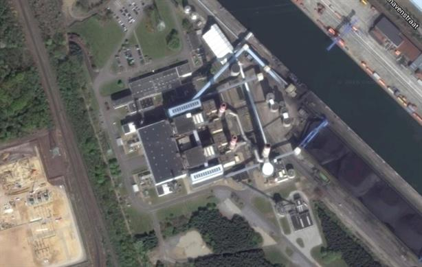 Flanders-based Langerlo NV power plant, photo copyright Google.co.uk