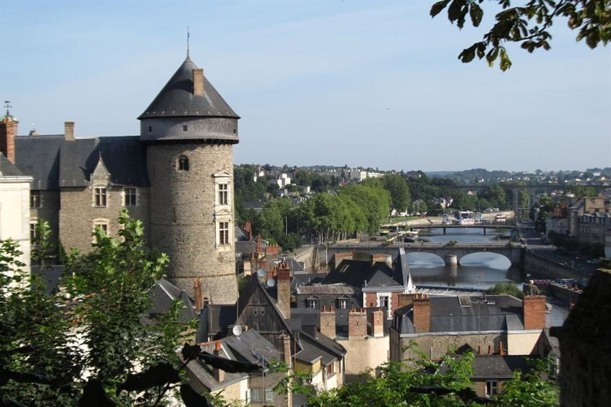 A view from Château Laval. Credit: CC BY 3.0 Celeste