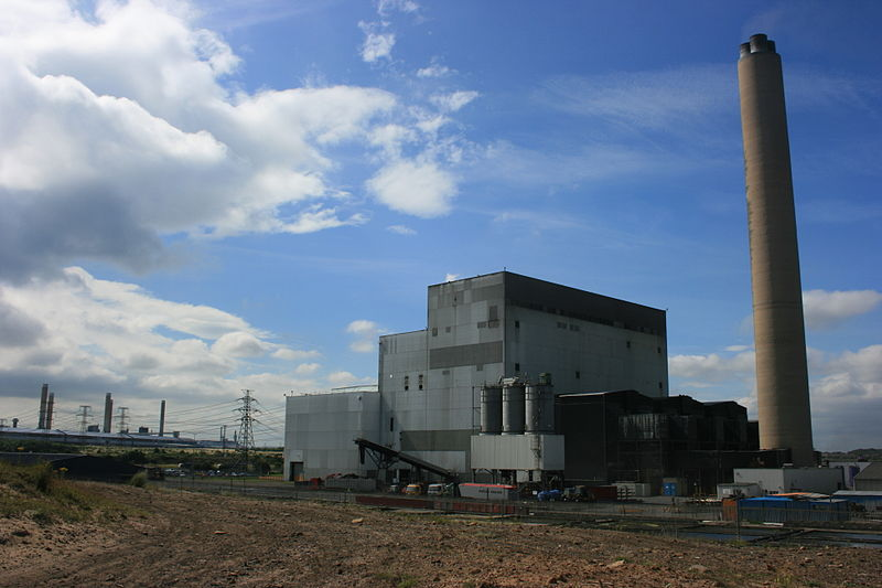 The Lynemouth Power Station