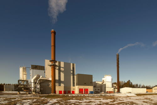 The new biomass plant