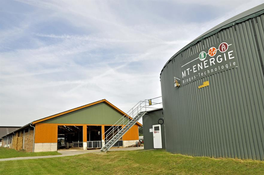 Biogas company MT-Energie has introduced a smaller plant due to the EEG