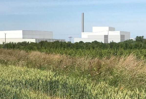 An artist's impression of MVV's latest EfW plant