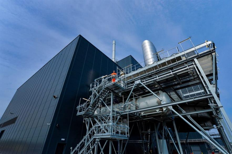 FCC has sold a 49% stake in five of its EfW plants, including Edinburgh's Millerhill plant. Photograph: FCC Environment