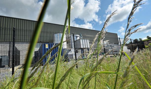Eqtec's Newry biomass-fired plant