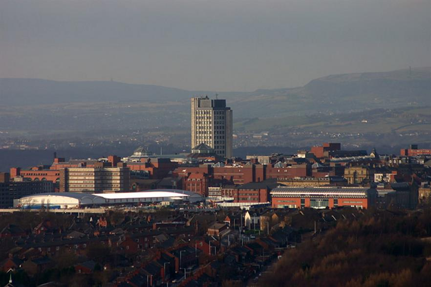 Much of Oldham's waste is treated a significant distance away. Photograph: Matthew Rees/Wikimedia Commons