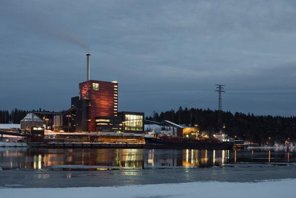 Sweden's largest bio-fuelled cogeneration facility the Igelsta plant near Stockholm