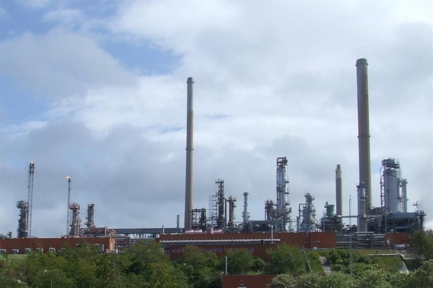 A diesel unit at Preem's Lysekil refinery will be converted to biodiesel production. Photograph: W. Carter/Wikimedia Commons