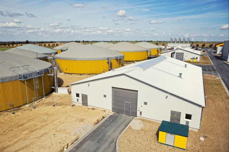 Envitec's Güstrow gas-to-grid AD plant