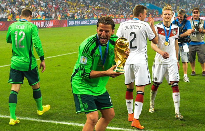 Germany's Roman Weidenfeller was a World Cup winner in 2014 Photo: 3.0 Brazil (CC BY 3.0 BR)