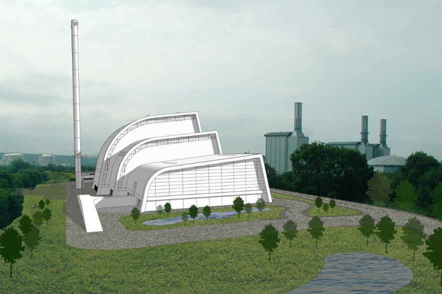 SITA's future Severnside EfW (energy-from-waste) facility