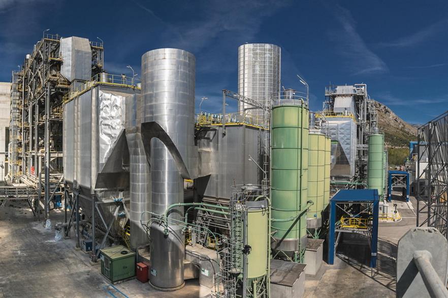 Lazio could have another EfW plant, beside's Acea's San Vittore plant. Photograph: Acea Spa