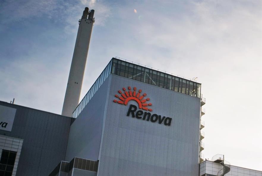 Renova's Sävenäsverket facility in Gothenburg. Credit: Renova AB