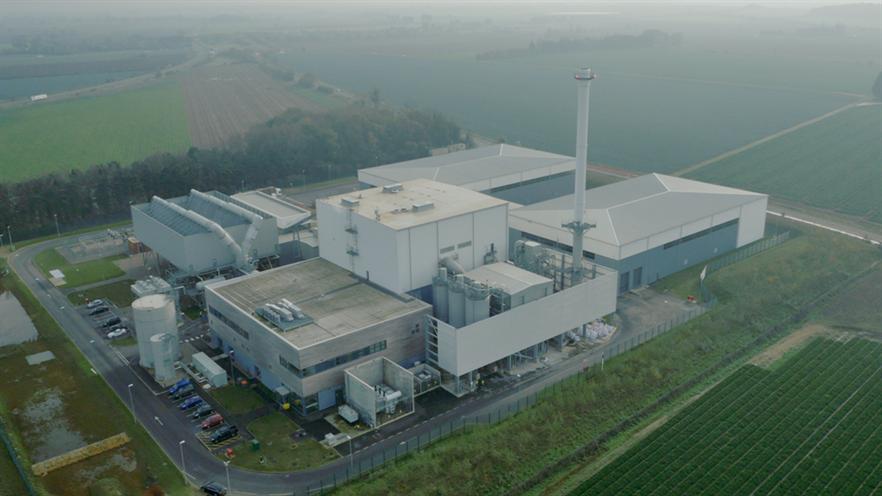 40MWe capacity Sleaford straw-fired plant