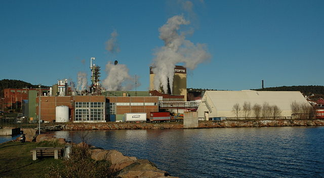 The paper mill is the site for a planned production facility