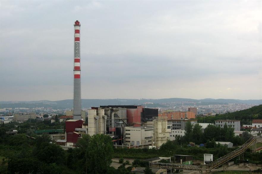 SAKO Brno - one of the Czech Republic's few existing EfW plants. Credit CC-BY 3.0 Dezidor