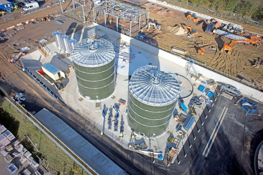 Tamar Energy's Halstead 45,000 tonnnes per year AD plant in Essex is due to open in the summer
