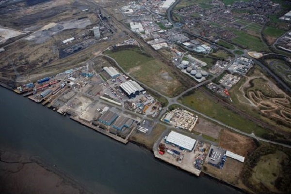 The site of the planned EfW plant