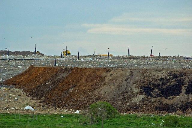 The Bowers Marsh landfill site In the UK Photo Wikipeida