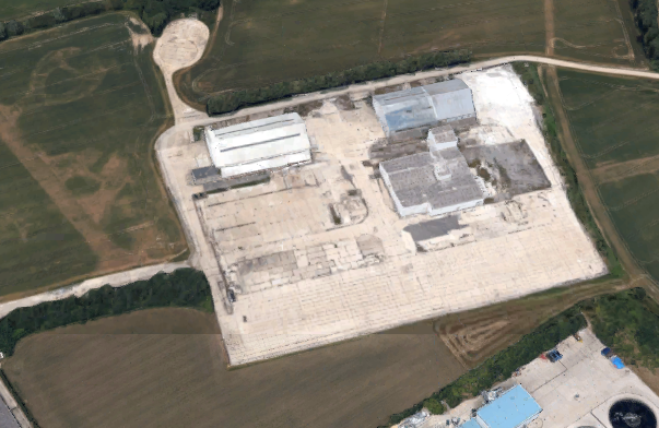 The planned location of the EfW plant, image google.co.uk