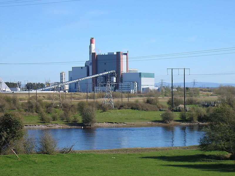 The West Offaly Power Station could be converted from peat to biomass