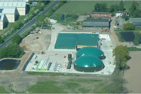The Whitchurch Biogas plant