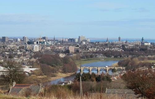 The city of Aberdeen Photo Wikipedia