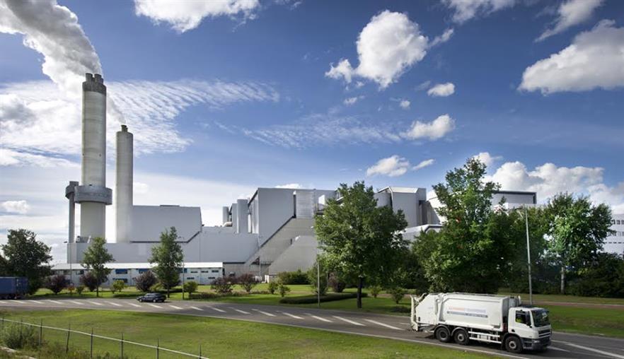 AEB's Hoogrendement Centrale EfW plant