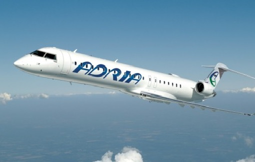 An aircraft made by Bombardier