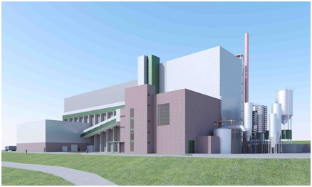 An artist's impression of the facility Photo: ANDRITZ