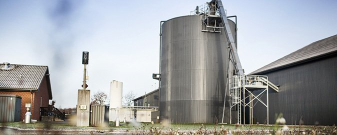 The biogas plant will be overhauled to supply Apple