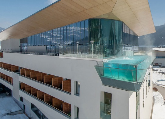 The Tauern Spa is heated by biogas