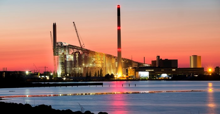 The under-construction plant
