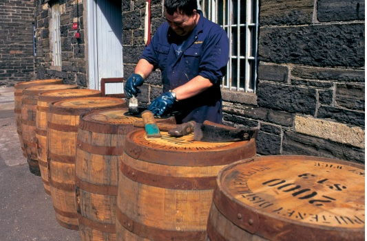 The system supplies the Pulteney Distillery