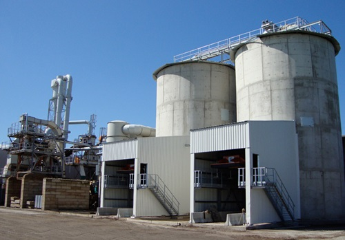 A shanks-owned biomass-fired facility in Flanders