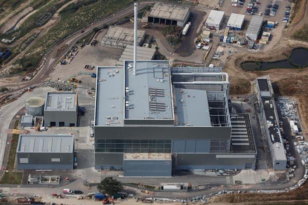 The EfW plant, image copyright Viridor